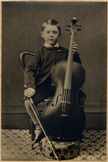 W H Squire. photo taken 1879 at Kingsbridge Town hall at his debut.