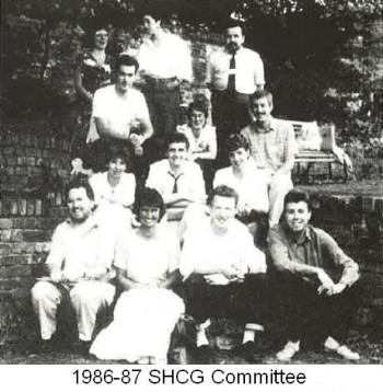 The 1986-87 SHCG committee