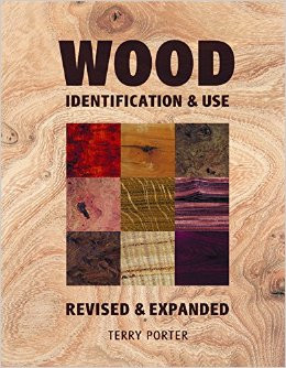 book cover showing types of wood